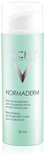 Vichy Normaderm Beautifying Anti Acne Treatment, Facial Lotion with Salicylic Acid 1.69 Fluid Ounce
