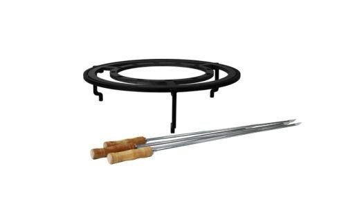 OFYR Brazilian Grill Set 100 for 100-100 and XL Wood Fire Grill Model by OFYR