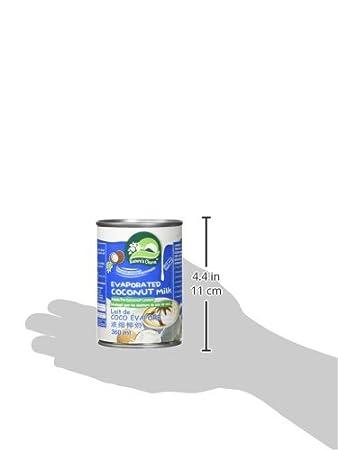 Encanto de la naturaleza - Leche de coco evaporada - 12.2 la Florida. onza.: Amazon.es: Salud y cuidado personal
