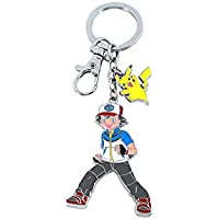 "WinVI Poke'mon Collection Pikachu 3.8"" Keychain Key Ring Key Chain (Pikachu)"