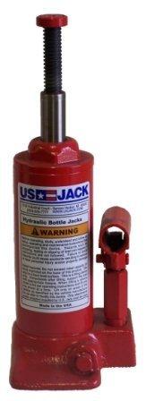 US JACK D-51122 3 Ton Bottle Jack Made in USA