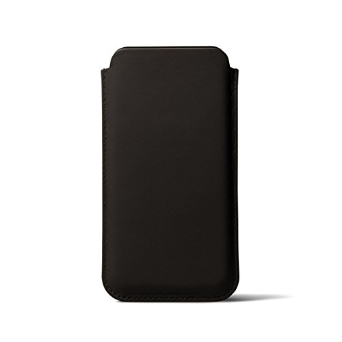Lucrin - Classic Case for iPhone X - Dark Brown - Smooth Leather by Lucrin (Image #5)