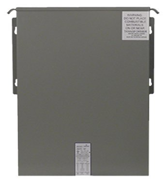 """SolaHD HS1F1.5AS Non-Ventilated Automation Transformer, 1 Phase, Encapsulated, 1.5 kVA, 240/480V - 120/240V, 6.25/3.13 Amp, 60 Hz, 12"""" Height, 10"""" Width, 7"""" Length, Rolled Steel"""