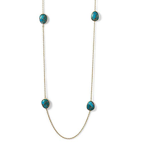 Buy turquoise sterling necklace 36