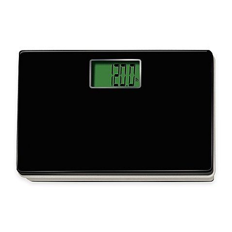 Digital Talking Regular Size Bathroom Scale in Black by Generic