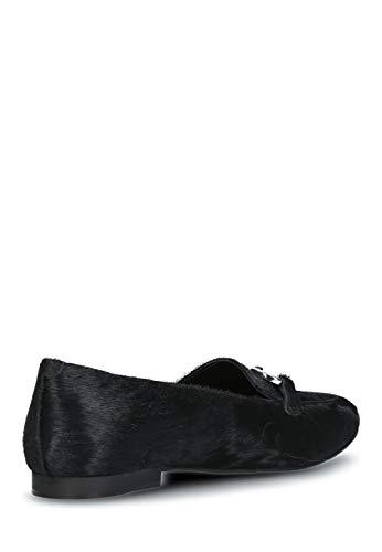 Mokassins Leder echt Schuhe Loafer Blue Joop Dark Damen Slipper Halb qxXvw1tI