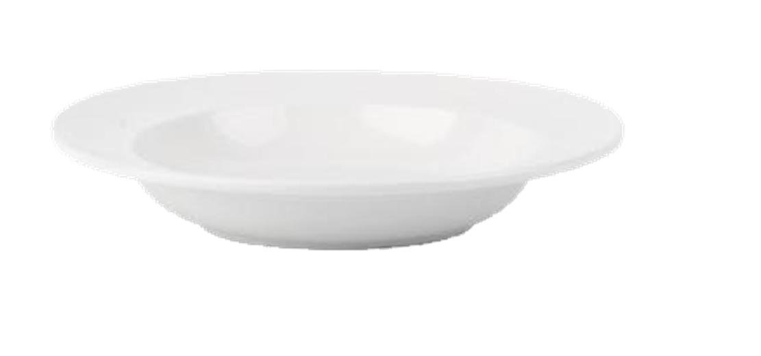(EC0024) SIMPLY VITRIFIED HOTELWARE BS4034 (SETS OF 6) 27cm PASTA PLATES BOWLS