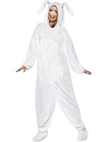 Smiffys Women's Rabbit Costume, White, Large]()