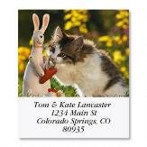 Love of Cats Self-Adhesive, Flat-Sheet Select Address Labels (12 Designs)