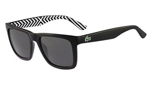 Lacoste L750S Wayfarer Sunglasses, Black, 54 - Lacoste Sunglasses Polarized