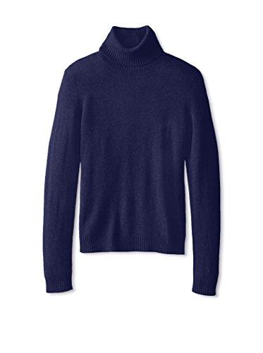 Cashmere Addiction Womens Long Sleeve Turtleneck Sweater
