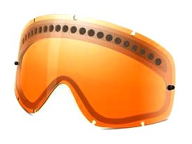 Oakley O-FrameMX Dual Vented Replacement Lens (Persimmon, One - O Replacement Oakley