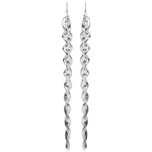 Silver Metallic Icicles - 5.75