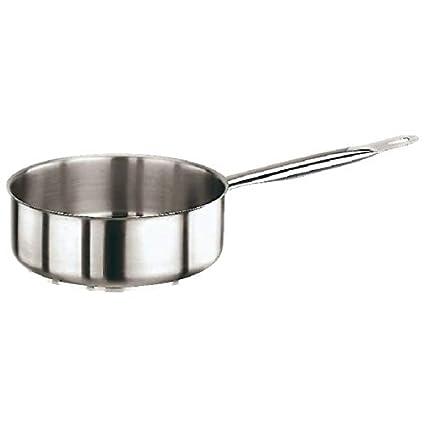 Paderno 11008-16 Deep Saucepan One Handle, 16 cm Stainless Steel