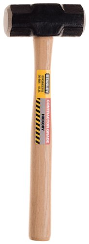 Stanley 56-804 4-Pound Hickory Handle Engineer Hammer