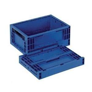 【5個セット】 折りたたみコンテナー/オリコン 【RS-BB12S】 ダークブルー 材質:PP【代引不可】 B07PDCQV8L