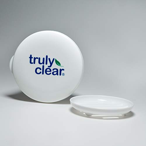 Truly Clear Confidence Case Soap Tray - Travel Soap Case and Soap Dish, Reusable Bar Soap Container Travel Friendly Perfect for Camping and Carry On Luggage