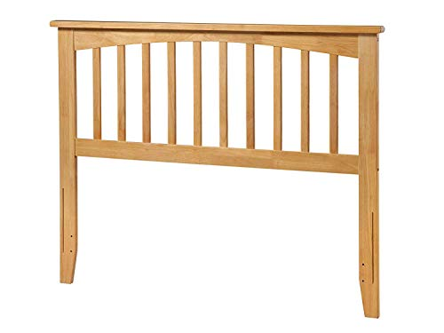 Atlantic Furniture Mission Headboard, Full, Natural