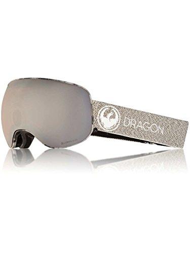 Dragon X2 Goggle 2018- Lumalens X2 Mill / Silver Ion Lumalens + Dark - Dark Goggles