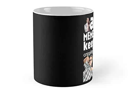 - A Meme A Day Keeps The Crippling Depression Away Mug - 11oz Mug - Best gift for family friends