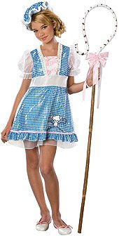 Teen Beaux Peep Costume Tween (Belle Costumes For Teenagers)