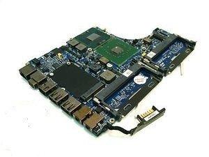 Apple Macbook 13 A1181 Logic Board With Intel CPU 2.0GHz T7200 White 820-1889-A (Cpu T7200)