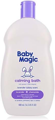 Baby Magic Calming Bath, Tear-Free, Lavender & Chamomile, 16.5oz