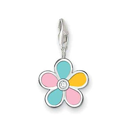 Thomas Sabo Flower Charm, Sterling Silver