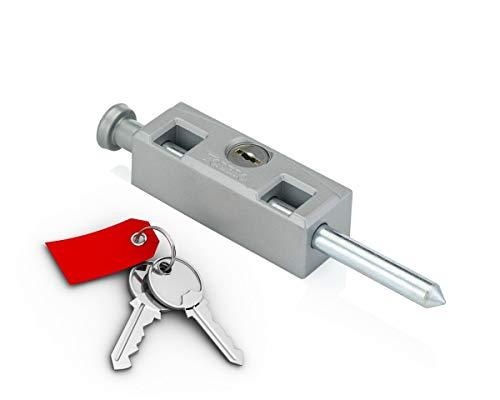 Aluminium Patio Doors - Sliding Patio Door Lock Bolt (Silver/Aluminum/Grey)