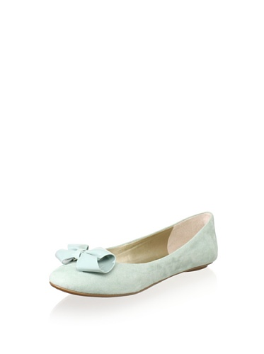 Enzo Angiolini Women's 7Borrea,Light Green Fabric,US 7.5 M