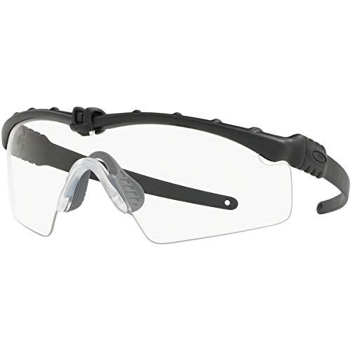 Oakley Men's Standard Issue M Frame 3.0 Sunglasses,OS,Matte Black/Clear (Oakley Sunglasses M Frame)