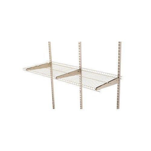 Rubbermaid FG5E2102SNCKL FastTrack 4' Wire Shelf