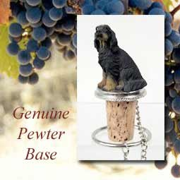 (Gordon Setter Dog Wine Bottle Stopper DTB66 by Conversation Concepts)