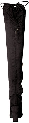 Brinley Co Women's Milan Over The Knee Boot Black discount 2015 new Ab9Ea