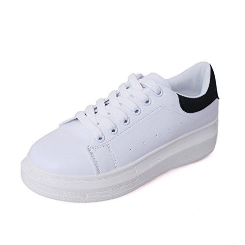 Freizeitschuhe,Dicken Weißen Schuh,Hundert Koreanische Version Von White Board Schuhen,Nude Schuhe A