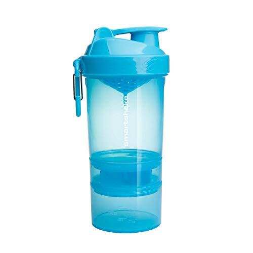 Smartshake Original 2GO, 20 oz Shaker Cup,  Blue (Packaging May Vary)