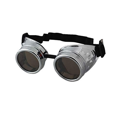 Huifa Vintage Style Steampunk Goggles Welding Punk Gothic Glasses Cosplay -