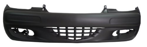 Chrysler PT Cruiser 01-05 Bumper Cover Front Gray New ()