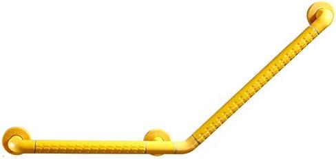 シャワーハンドル、304ステンレス鋼のアームレスト-ライトリング、滑り止めのバスルームアームレスト、高齢者に適しています/身体障害者用,Yellow-50*70cm