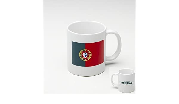 Taza Mug de ceramica Portugal - Bandera Portugues: Amazon.es: Hogar