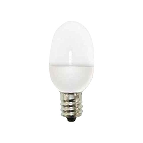 GE Lighting 14150 C7 LED Night Light Bulb with Candelabra Base, 0.5-Watt, White, 2-Pack - Led C7 Light Bulb