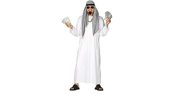 Guirca Disfraz de Jeque Árabe para Hombre: Amazon.es: Juguetes y ...