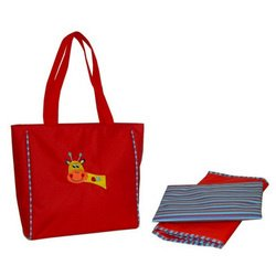 Kalencom Giraffe - Circle of Friends Day Bag - Red Giraffe