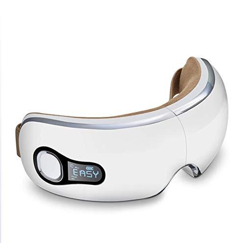 電気目のマッサージの目の心配の器械理性的な音楽の電気目のマッサージは疲労の振動一定した温度の熱い圧縮のリフレッシュを和らげる B07PM3FRX8