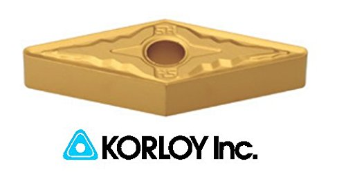 10pc) Korloy VNMG 332-HM NC3030 160408 Indexable Carbide Inserts