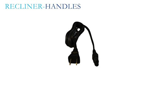 Recliner-Handles Okin Replacement 3′ AC Power Supply Chord for Electric Recliner or Liftchair