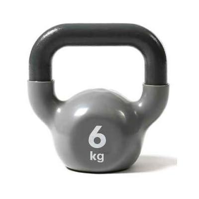 Kettlebell En fonte Gris - 6 kg