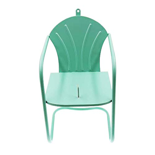 Drware Squirrel Feeder Chair, Green - Squirrel Ear Corn Holder