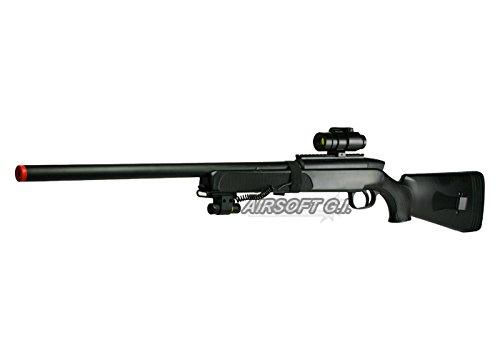 Double Eagles Full Metal M50 Pro Version 3 Bolt Action Sniper Rifle (Black)