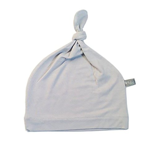 KYTE BABY Bamboo Rayon Baby Beanie Hats Soft Knotted Caps 2 Pack